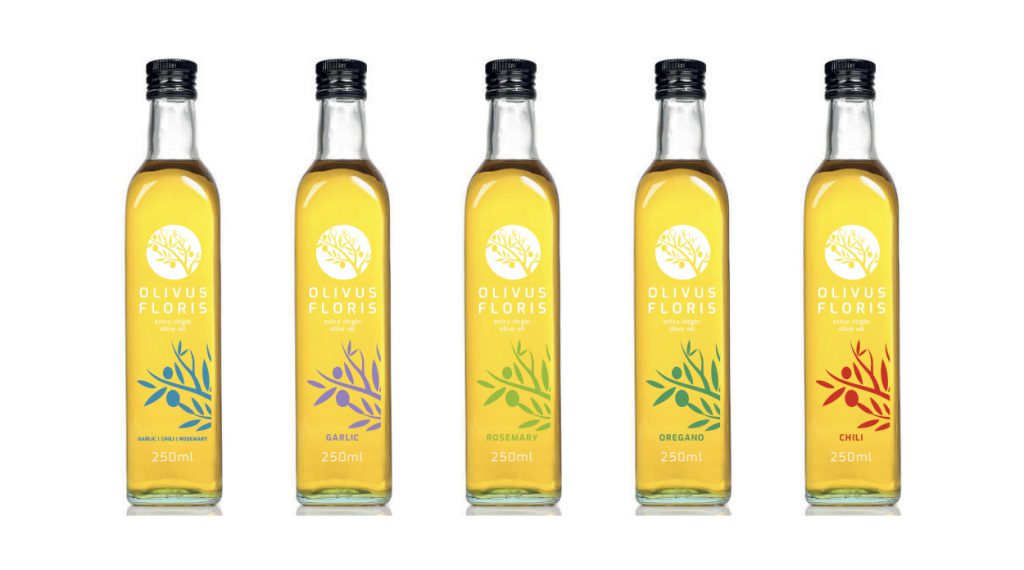 Wholesale Garlic, Rosemary, Oregano and Chili Olive Oil Infusions
