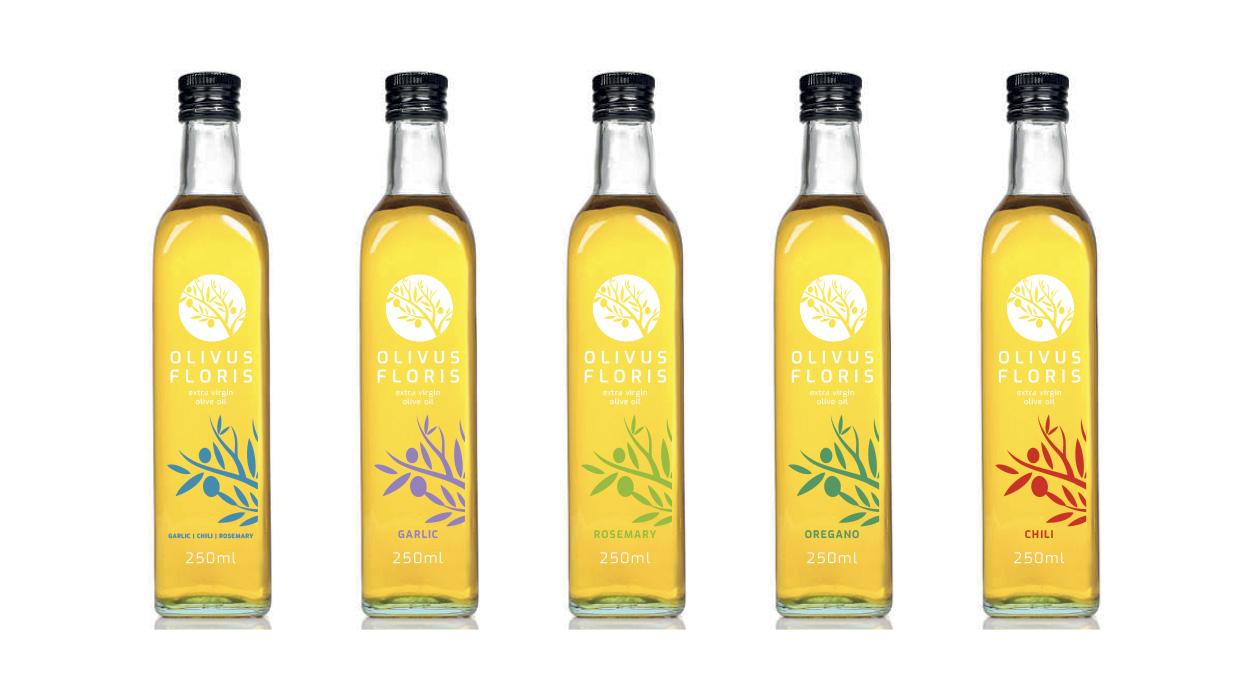 Wholesale Garlic, Rosemary, Oregano and Chili Olive Oil Infusions