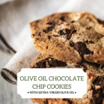 Olivus Floris Olive Oil Chocolate Chip Cookies