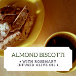 Olivus Floris Rosemary Infused Olive Oil Biscotti