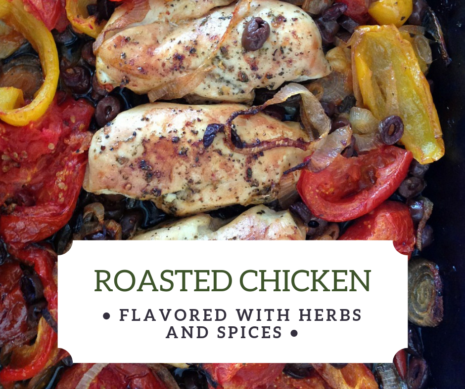 Sunday Roast Chicken Roast with Herbs and Spices