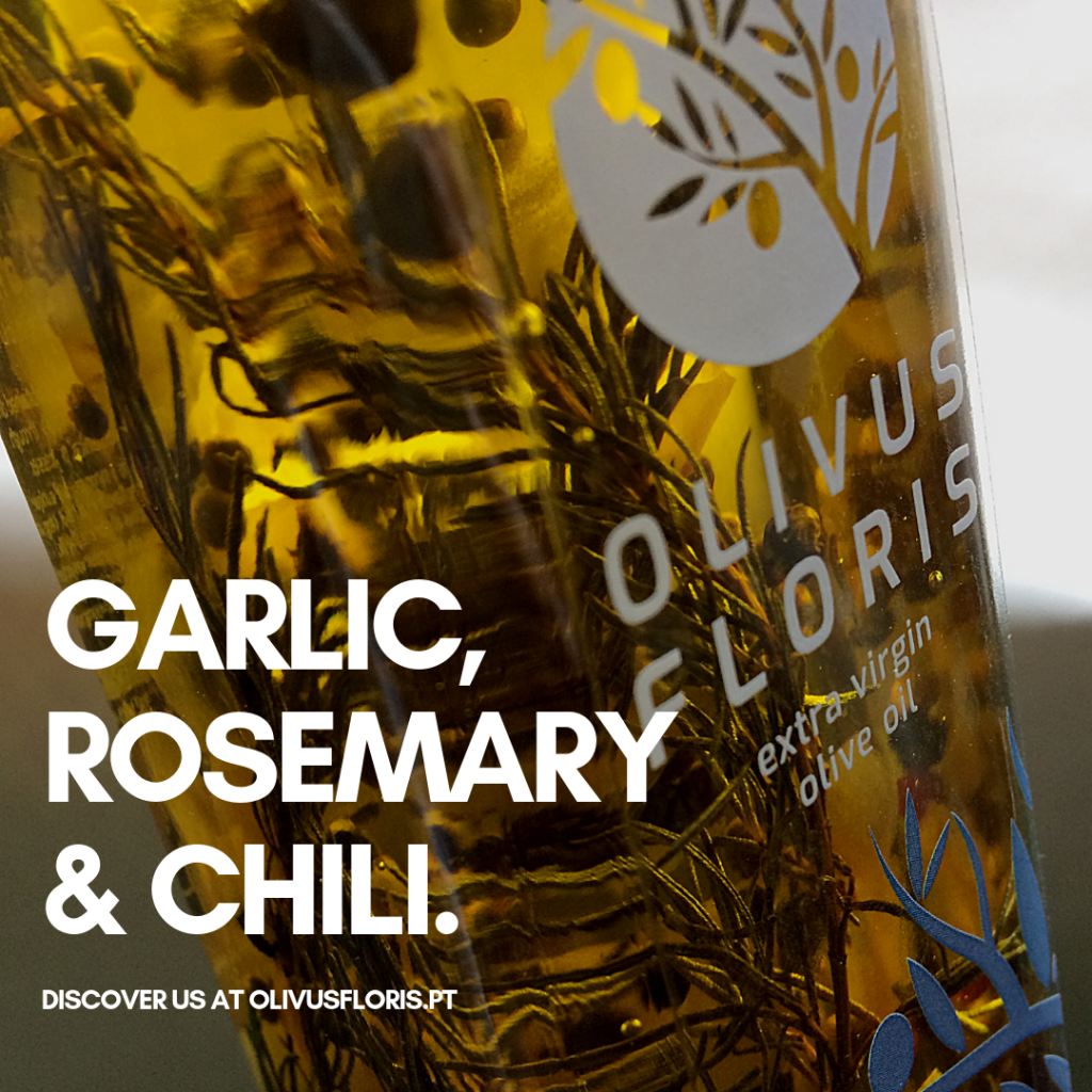 Garlic, Rosemary and Chili Olivus FlorisOlive Oil